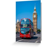 London Postcard Greeting Card
