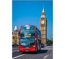 London Postcard Photographic Print