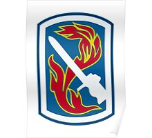 198th Infantry Brigade (United States) Poster