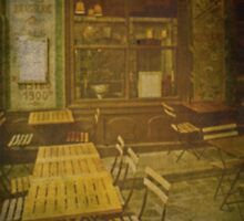 Autochrome Paris - Latin Quarter Bistro by Andy Duffus