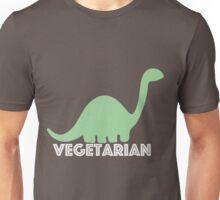 Vegetarian Dinosaur Logo Unisex T-Shirt