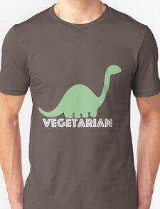 Vegetarian Dinosaur Logo T-Shirt