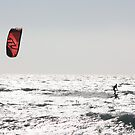 Kite surfing 7743 by João Castro