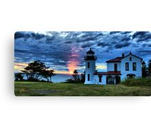 God's Lighthouse II Canvas Print
