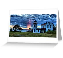 God's Lighthouse II Greeting Card