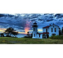 God's Lighthouse II Photographic Print