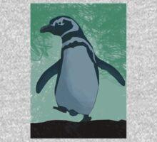 Cute little penguin Kids Clothes