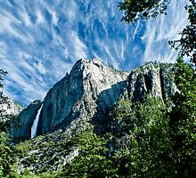 Upper Yosemite Falls by Phillip M. Burrow