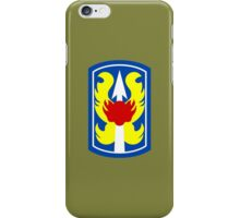 199th Infantry Brigade (United States) iPhone Case/Skin