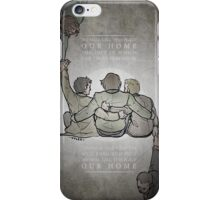 The Middle Ground iPhone Case/Skin