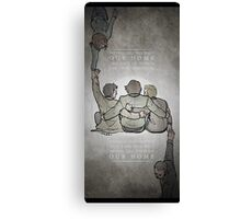 The Middle Ground Canvas Print