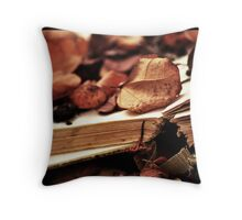 Book of Seasons Throw Pillow
