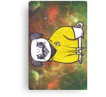 Yellow Shirt - Pug Trek Canvas Print