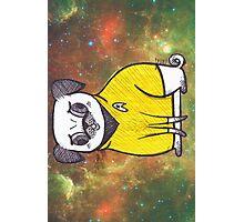 Yellow Shirt - Pug Trek Photographic Print
