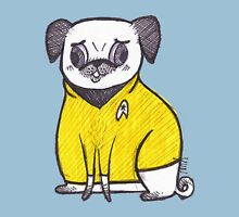 Yellow Shirt - Pug Trek Womens Fitted T-Shirt