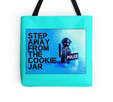 Step away from the cookie jar, by Tim Constable Tote Bag