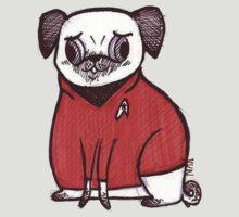 Red Shirt - Pug Trek by yunnn