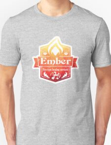 Pokemon - Ember Heating Services (Distressed) Unisex T-Shirt