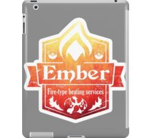Pokemon - Ember Heating Services (Distressed) iPad Case/Skin