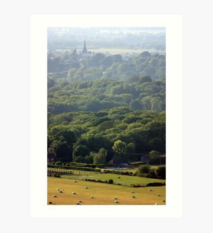 Hurstpierpoint in East Sussex Art Print