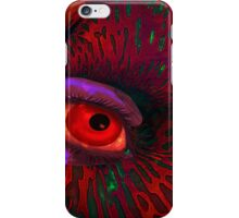 Contemplation of an alien nature iPhone Case/Skin