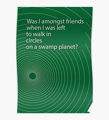 Hitchhikers' circle Poster