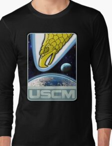 USCM squad of ultimate bad*sses Long Sleeve T-Shirt