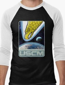 USCM squad of ultimate bad*sses Men's Baseball ¾ T-Shirt