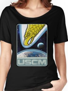 USCM squad of ultimate bad*sses Women's Relaxed Fit T-Shirt