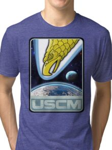 USCM squad of ultimate bad*sses Tri-blend T-Shirt