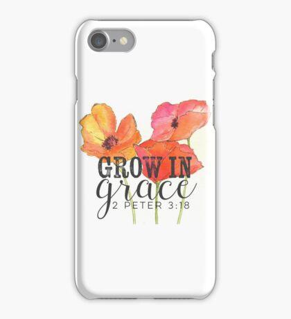 Grow in Grace iPhone Case/Skin