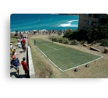 Level Playing Field, Sculptures By The Sea 2006 Canvas Print