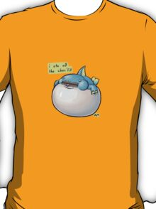 i ate all the choc'lit - Zamtrios T-Shirt