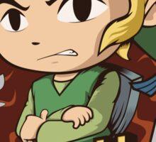 Dear World, I'm not Zelda Sticker
