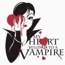 My heart belongs to a Vampire by kdigraphics