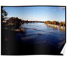 Berri/Loxton Bridge view Poster