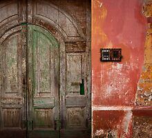 Faded Doorway, Antigua Guatemala by morealtitude