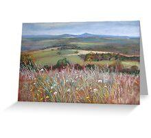 'Meadow Grasses, Anzac Hill' (Seymour) Greeting Card