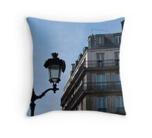 finally. paris. Throw Pillow