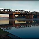 Victoria Bridge (Penrith, Australia) by Manfred Belau