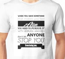 Markiplier Quote 1 Unisex T-Shirt