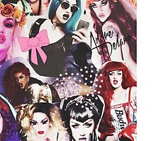 Adore Delano Collage by isaurayeh
