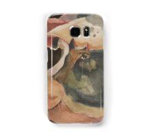 Stock show watercolor piggy Samsung Galaxy Case/Skin
