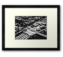 Icons galore - Melbourne Framed Print