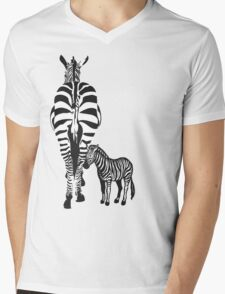 Precious Stripes 2 Mens V-Neck T-Shirt