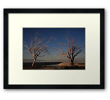 Love Me Two Times Framed Print