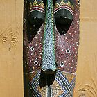 Mask at the Alligator Farm, Florida  by heatherfriedman
