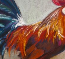 Portrait of Michael's Rooster Sticker