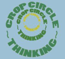 CROP CIRCLES~THINKING Kids Clothes