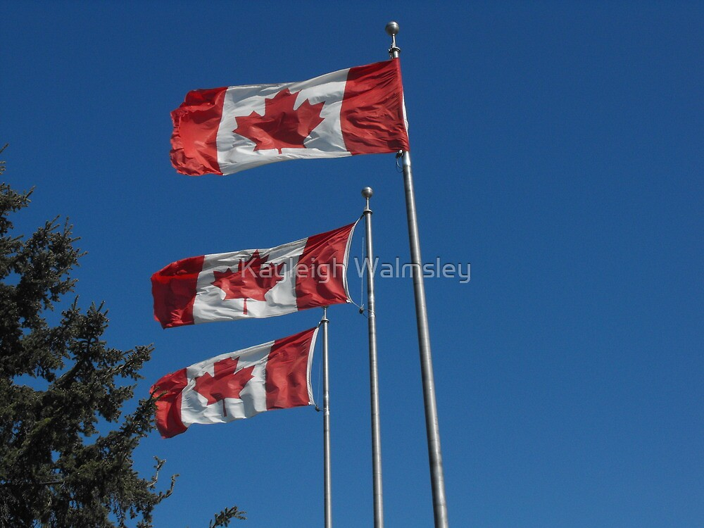 Canada Day! by Kayleigh Walmsley